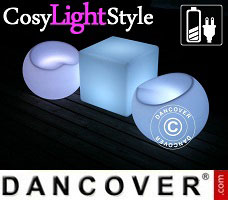 Lampes LED CosyLightStyle 1 table + 2 chaises