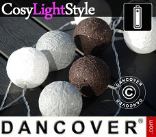 Lampes LED CosyLightStyle Ø7,5cm, 3 pcs, Or