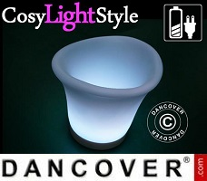 Lampes LED CosyLightStyle 20 pièces, rouge