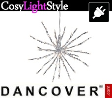 Lampes LED CosyLightStyle LED clignotante, 10m, Blanc